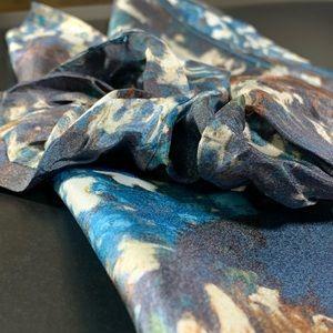 Silk Scrunchie and Handkerchief